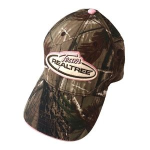 Team RealTree Camouflage & Pink Camo Cap Hat